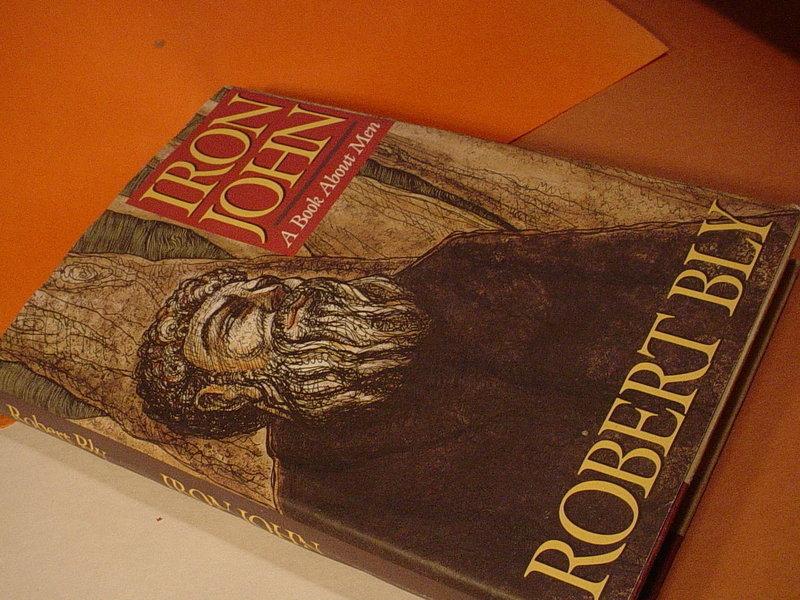 1st Ed  Iron John ~Robert Bly