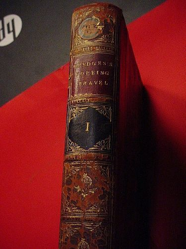 1st Ed Recollections of Foreign Travel ..Vol. I ~  Brydges 1825