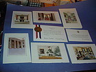 (6)Pres.Reagan WH Christmas Cards +Birthday & Birth of a Child