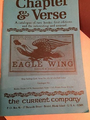 CHAPTER & VERSE Current Company Catalogue 6