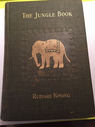 1st American Ed~  THE JUNGLE BOOK ~ Rudyard Kipling 1894