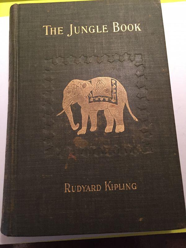 1st American Ed~  THE JUNGLE BOOK ~ Rudyard Kipling 1894