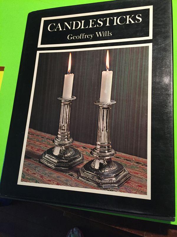 1st Ed ~ CANDLESTICKS-Geoffrey Wills 1974 HC/DJ