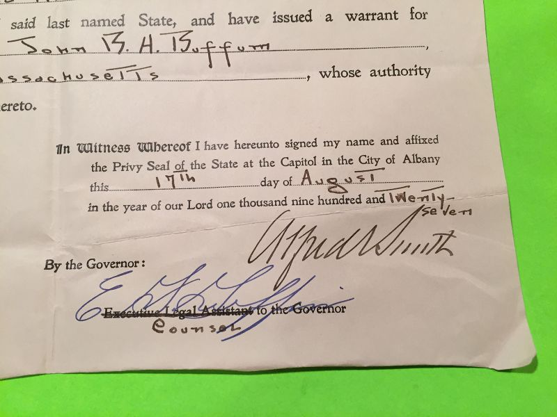 Fugitive-Transfer-Signed-by-Gov-Alfred-E-Smith-NY-8-17-27