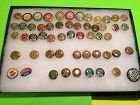 52 United Automobile Workers Labor Pins + 3 (1937-1941)