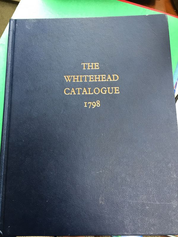 The Whitehead Collection 1798
