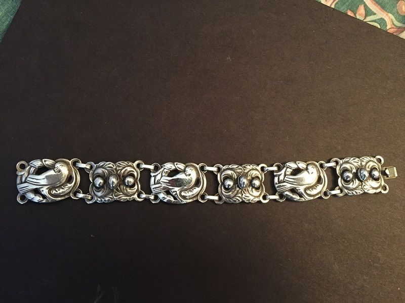 Norseland Sterling Jensen Dove Bracelet