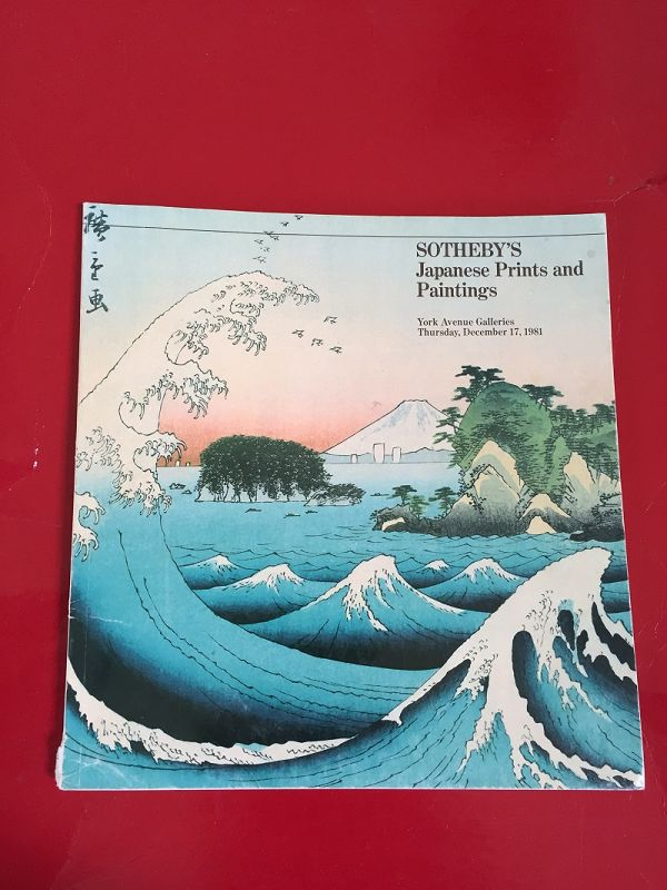 Sotheby's Japanese Prints + Paintings 12/17/81
