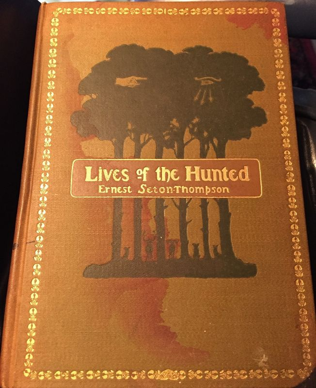 1st Ed~1st Impression LIVES OF THE HUNTED~Seton-Thompson 1901