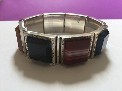 Victorian Scottish Agate Bracelet