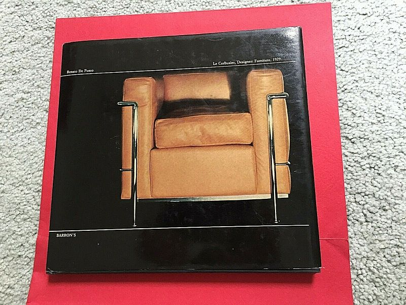 Le Corbusier Designer Furniture 1929 ~ Renato DeFusco 1977