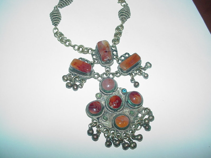 African Amber Necklace