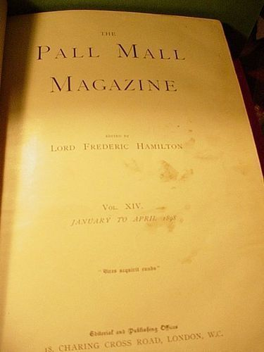Pall Mall Magazine Vol. XIV ~ Jan~April 1898