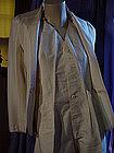70's Catherine Hipp 2Pc Silk Tuxedo Outfit ~ Petite