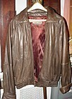 HASTINGS Leather Bomber Jacket ~ Sz M