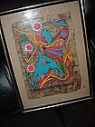 Mexican Folk Art Painting ~Papel Amate