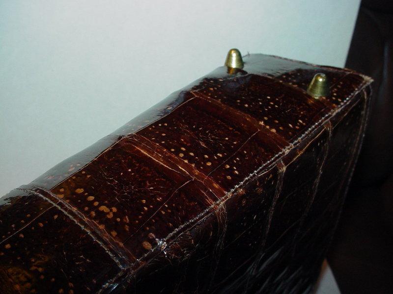Vassar Genuine Alligator Bag