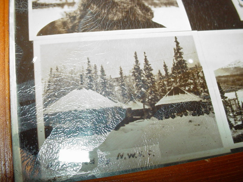 Alaskan Highway Photographic Collage