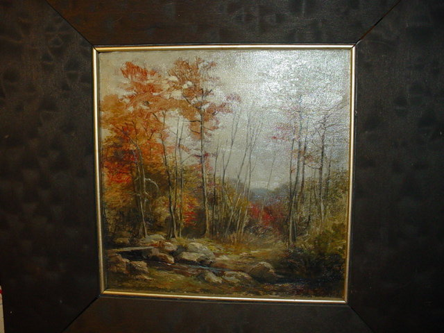 Fall Landscape ~  Emma Lavinia Swan (1853-1927)