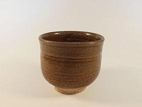 Song Dynasty Brown Glaze Beaker