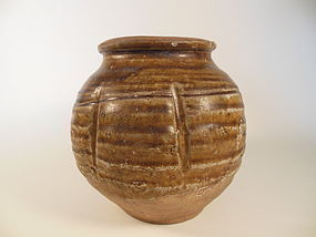 Song Dynasty Brown Glaze Jar
