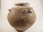 Brown Glaze Song Dynasty Jar