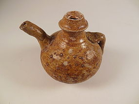 Tang Dynasty Brown Glaze Ewer