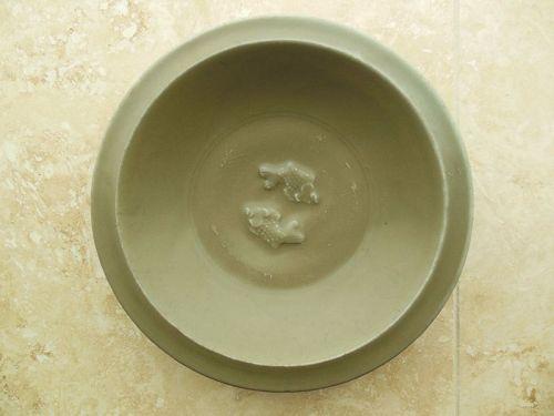 Song Dynasty Celadon Glaze Twin Fish Plate