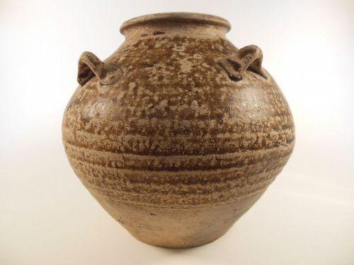 Song Dynasty Brown Glaze Jar