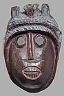 Antique Indian Mask of Hanuman.