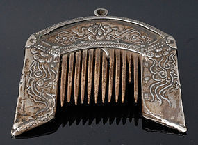 Antique Chinese Minority Comb