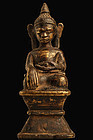 Antique Bronze Statue of Buddha