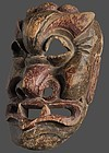 Antique Chinese Nuo Mask of Kailu