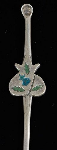 Antique Chinese Minorities Silver Hairpin