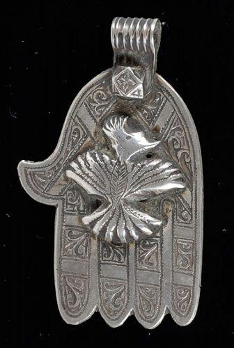 Moroccan Silver Hamsa