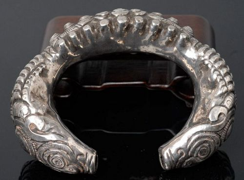 Chinese Minority Silver Bracelet
