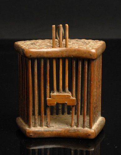 Antique Traditional Chinese Cricket Cage