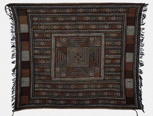 Antique Tribal Wedding Veil