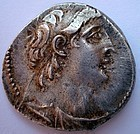 A SELEUCID SILVER TETRADRACHM OF ANTIOCHUS VII