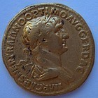 A ROMAN GOLD AUREUS OF TRAJAN