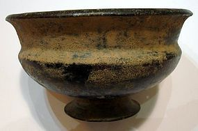 A LATE HELLENISTIC/ EARLY ROMAN BRONZE BOWL