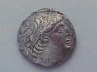 A SILVER TETRADRACHM OF ANTIOCHUS VII
