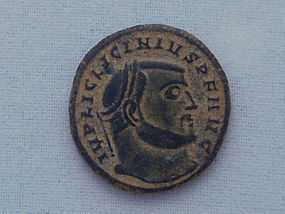 A ROMAN ANTONINIANUS OF LICINIUS I