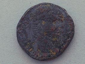 A ROMAN SILVER TETRADRACHM OF CARACALLA