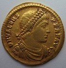 A LATE ROMAN/EARLY BYZANTINE GOLD SOLIDUS OF VALENS