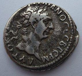 A ROMAN SILVER DIDRACHM OF TRAJAN