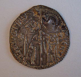 A VENETIAN SILVER GROSSO OF ANTONIO VENIER