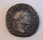 A ROMAN SILVER DENARIUS OF TRAJAN