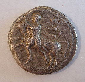 A GREEK SILVER DRACHM OF THESSALY