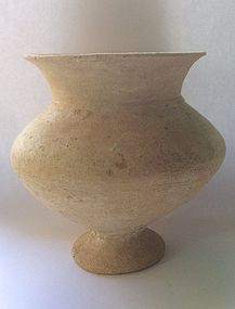 A CANAANITE TERRACOTTA CARINATED BOWL